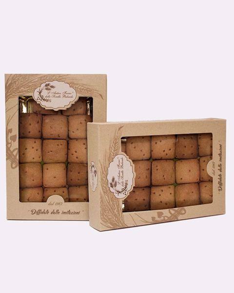 Immagine di Quadratino Cioccolato e Albicocca  260 gr