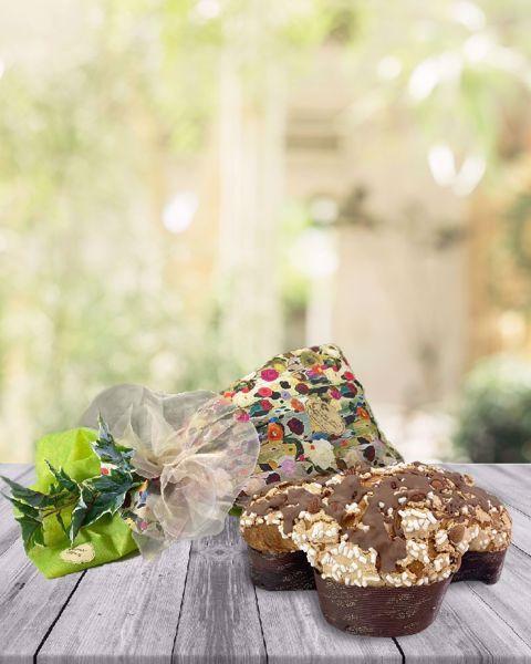 Immagine di Colomba con Albicocca e Crema Cioccolato